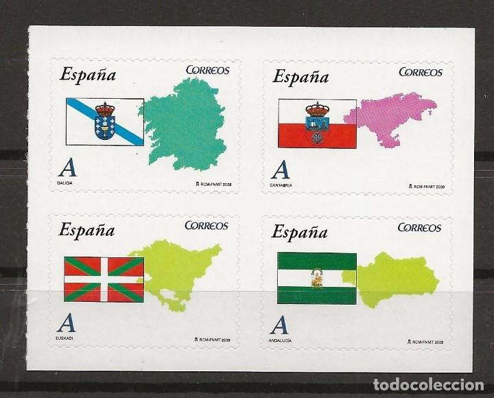 R13/ ESPAÑA 2009, MNH**, AUTONOMIAS (Sellos - España - Juan Carlos I - Desde 2.000 - Nuevos)
