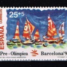 Selos: ESPAÑA 1992 - EDIFIL 3157-59** - BARCELONA'92. VIII SERIE PRE-OLÍMPICA. Lote 177745677