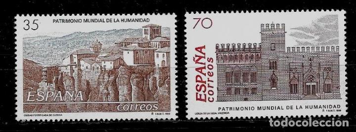 JUAN CARLOS I -BIENES CULTURALES Y NATURALES - EDIFIL 3558-59 - 1998 (Sellos - España - Juan Carlos I - Desde 1.986 a 1.999 - Nuevos)