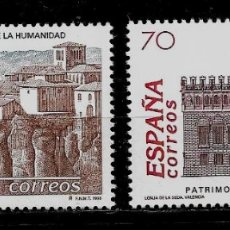 Sellos: JUAN CARLOS I -BIENES CULTURALES Y NATURALES - EDIFIL 3558-59 - 1998. Lote 177748195