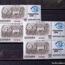 Sellos: 2719, CUATRO SERIES NUEVAS, SIN CH., EN PAREJAS. SELLO.. Lote 177861248