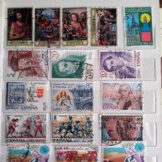 Sellos: ESPAÑA 1979, LOTE DE 21 SELLOS USADOS DIFERENTES. Lote 177942540