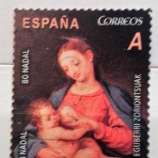 Sellos: ESPAÑA 2013, SELLO - FELIZ NAVIDAD - VIRGEN CON EL NIÑO. Lote 177945194