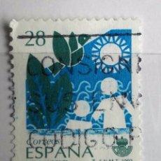 Sellos: ESPAÑA 1993, SELLO USADO, MEDIO AMBIENTE. Lote 177970834