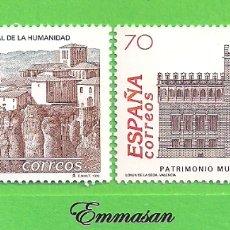 Sellos: EDIFIL 3558-3559. BIENES CULTURALES Y NATURALES PATRIMONIO MUNDIAL DE LA HUMANIDAD. (1998).** NUEVOS. Lote 178026812
