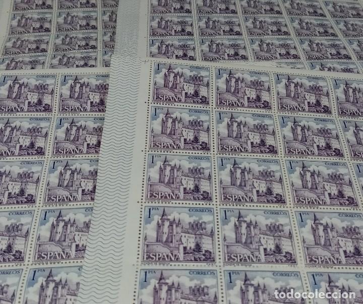 100 SELLOS CORREOS 1 PTS - EL ALCAZAR DE SEGOVIA - SIN CIRCULAR M.S.XX (Sellos - España - Juan Carlos I - Desde 2.000 - Nuevos)