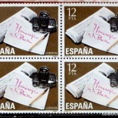 Sellos: SELLOS ESPAÑA 1981- FOTO 685- Nº 2610 BL. 4 SELLOS,NUEVO. Lote 178331923