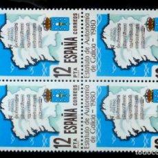 Sellos: SELLOS ESPAÑA 1981 -FOTO 686- Nº 2611, BL. 4 SELLOS, NUEVO. Lote 178332078