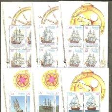 Sellos: CATALOGO EDIFIL HOJITAS 3352, 3353, 3415, 3416, 3477, 3478, NUEVAS, G.ORIGINAL. PRECIO CATALOGO S. Lote 178384660