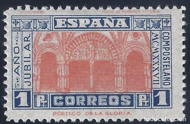EDIFIL 835 AÑO JUBILAR COMPOSTELANO 1937. VALOR CATÁLOGO: 40 €. MH * (Sellos - España - Juan Carlos I - Desde 1.975 a 1.985 - Nuevos)