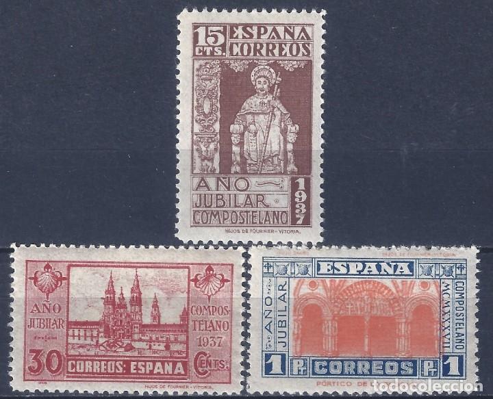 EDIFIL 833-835 AÑO JUBILAR COMPOSTELANO 1937 (SERIE COMPLETA). VALOR CATÁLOGO: 162 €. MNH ** (Sellos - España - Juan Carlos I - Desde 1.975 a 1.985 - Nuevos)