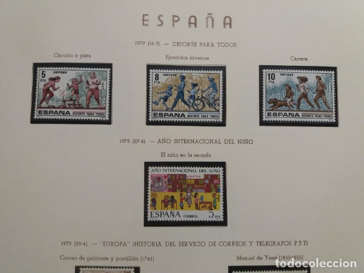 Sellos: ALBUM DE SELLOS ESPAÑOLES VARIADO (VER DESCRIPCION) - Foto 38 - 178619882