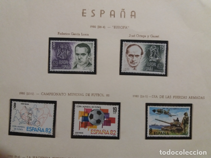 Sellos: ALBUM DE SELLOS ESPAÑOLES VARIADO (VER DESCRIPCION) - Foto 55 - 178619882