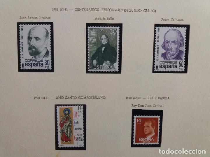 Sellos: ALBUM DE SELLOS ESPAÑOLES VARIADO (VER DESCRIPCION) - Foto 76 - 178619882