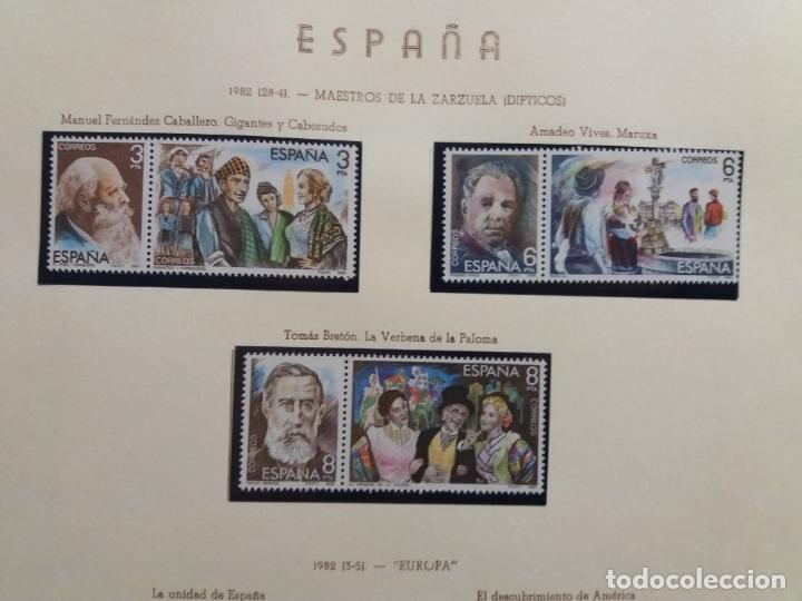 Sellos: ALBUM DE SELLOS ESPAÑOLES VARIADO (VER DESCRIPCION) - Foto 77 - 178619882