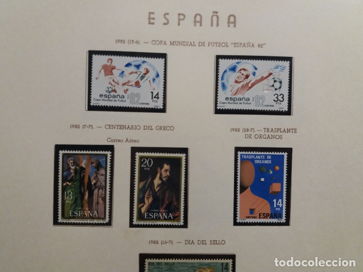 Sellos: ALBUM DE SELLOS ESPAÑOLES VARIADO (VER DESCRIPCION) - Foto 81 - 178619882