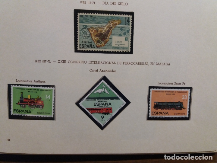 Sellos: ALBUM DE SELLOS ESPAÑOLES VARIADO (VER DESCRIPCION) - Foto 82 - 178619882