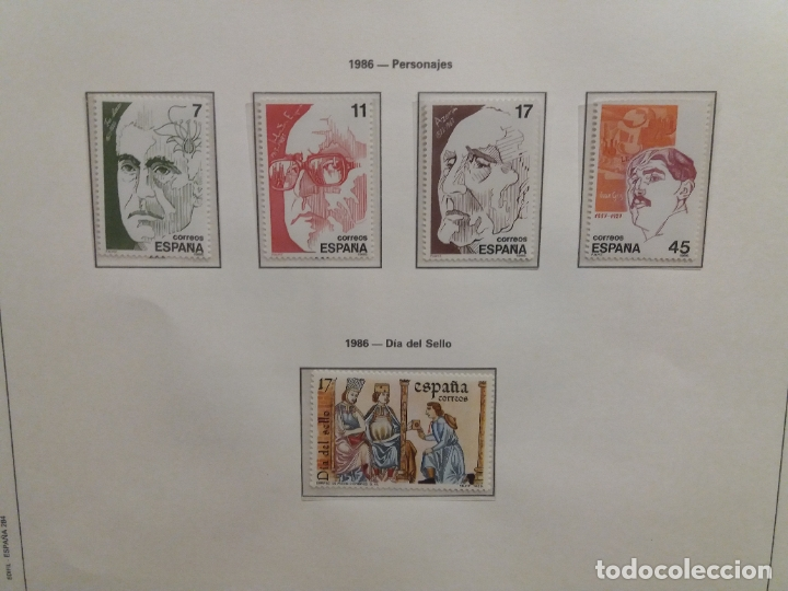 Sellos: ALBUM DE SELLOS ESPAÑOLES VARIADO (VER DESCRIPCION) - Foto 129 - 178619882