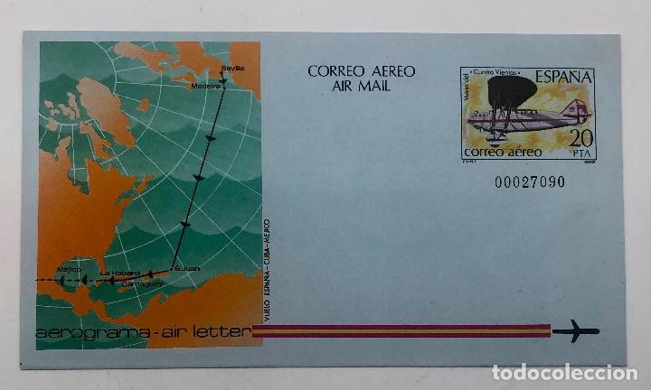 Sellos: 1982 España. Aerogramas (Edif.203/204) - Foto 2 - 178672507