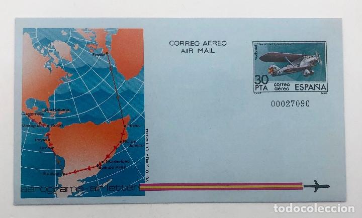 Sellos: 1982 España. Aerogramas (Edif.203/204) - Foto 3 - 178672507