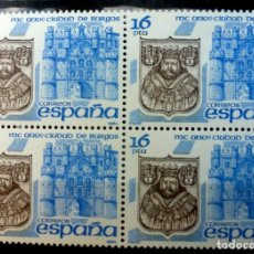 Sellos: SELLOS ESPAÑA 1984- FOTO 742- Nº 2743,BL. 4 SELLOS, NUEVO. Lote 178681656