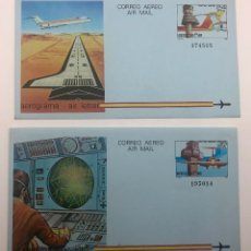 Sellos: 1984 ESPAÑA. AEROGRAMAS (EDIF.207/208). Lote 178682390