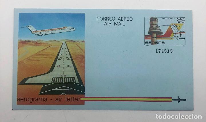 Sellos: 1984 España. Aerogramas (Edif.207/208) - Foto 2 - 178682390