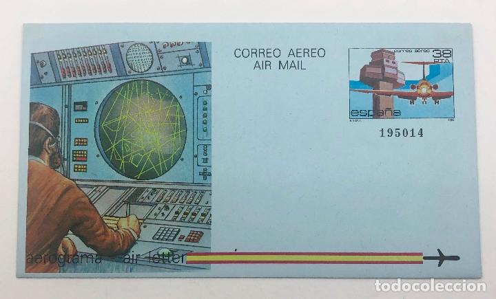 Sellos: 1984 España. Aerogramas (Edif.207/208) - Foto 3 - 178682390