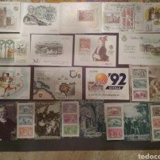 Sellos: LOTE HOJAS BLOQUE ESPAÑA NUEVAS. Lote 178818837