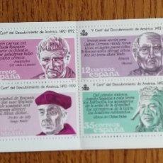 Sellos: ESPAÑA : N°2860C. DESCUBRIMIENTO DE AMÉRICA, MNH (FOTOGRAFÍA ESTÁNDAR). Lote 213540825