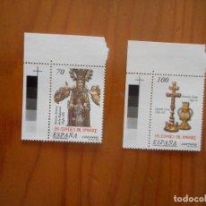 Sellos: LOTE 2 SELLOS LAS EDADES DEL HOMBRE. 2000. NUEVOS, SIN CHARNELA. Lote 178964527