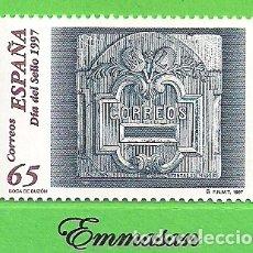 Sellos: EDIFIL 3471. DÍA DEL SELLO - BOCA DE BUZÓN EN PIEDRA. (1997).** NUEVO SIN FIJASELLOS.. Lote 179160682