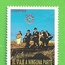 Sellos: EDIFIL 3472. CINE ESPAÑOL - ''EL VIAJE A NINGUNA PARTE''. (1997).** NUEVO SIN FIJASELLOS.. Lote 179161642