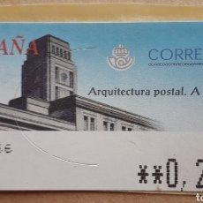 Francobolli: NUEVO - ATM - ARQUITECTURA POSTAL - A CORUÑA - 2002. Lote 179173405