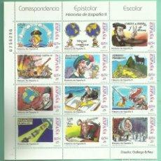 Sellos: HB 2001.HISTORIA DE ESPAÑA II. GALLEGO & REY. 12 SELLOS DE 0,15 EUROS. 30%DESCUENTO. Lote 179193146