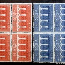 Sellos: SELLOS ESPAÑA 1984- FOTO 748-Nº 2756, BL.4 SELLOS,COMPLETA,NUEVO. Lote 179258012