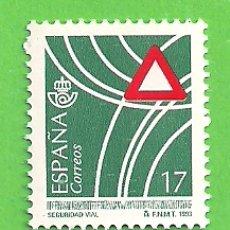 Sellos: EDIFIL 3237. SERVICIOS PÚBLICOS - SEGURIDAD VIAL. (1993).** NUEVO SIN FIJASELLOS.. Lote 179319837