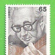 Sellos: EDIFIL 3242. I CENTENARIO DEL NACIMIENTO DE ANDRÉS SEGOVIA. (1993).** NUEVO SIN FIJASELLOS.. Lote 179322982
