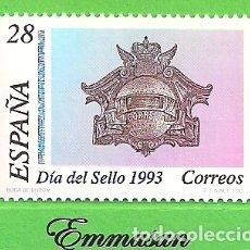 Sellos: EDIFIL 3243. DÍA DEL SELLO - BUZÓN DE 1908. (1993).** NUEVO SIN FIJASELLOS.. Lote 179324450