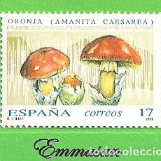 Sellos: EDIFIL 3245. MICOLOGÍA - ORONJA. (1993).** NUEVO SIN FIJASELLOS.. Lote 179326960