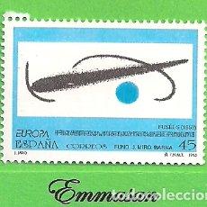 Sellos: EDIFIL 3250. EUROPA. OBRAS DE JOAN MIRÓ - FUSÉES. (1993).** NUEVO SIN FIJASELLOS.. Lote 179387442