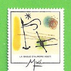 Sellos: EDIFIL 3251. EUROPA. OBRAS DE JOAN MIRÓ - LA BAGUE D'AURORE. (1993).** NUEVO SIN FIJASELLOS.. Lote 179388075
