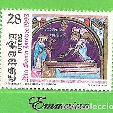 Sellos: EDIFIL 3253. AÑO SANTO JACOBEO. (1993).** NUEVO SIN FIJASELLOS... Lote 179388793
