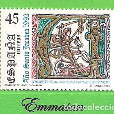 Sellos: EDIFIL 3254. AÑO SANTO JACOBEO. (1993).** NUEVO SIN FIJASELLOS... Lote 179388966