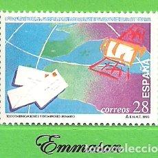 Sellos: EDIFIL 3255. DÍA DE LAS TELECOMUNICACIONES. (1993).** NUEVO SIN FIJASELLOS.. Lote 179389816