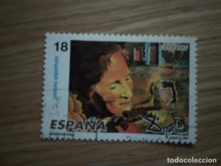 ESPAÑA 1994 SPAIN EDIFIL Nº 3290 º USADO YVERT Nº 2882 º FU DALÍ PEINTURES ESPAGNOLES (Sellos - España - Juan Carlos I - Desde 1.986 a 1.999 - Usados)