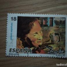 Sellos: ESPAÑA 1994 SPAIN EDIFIL Nº 3290 º USADO YVERT Nº 2882 º FU DALÍ PEINTURES ESPAGNOLES. Lote 180017152