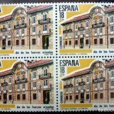 Sellos: SELLOS ESPAÑA 1985- FOTO 763- Nº 2790,BL.4 SELLOS, NUEVO. Lote 180017780