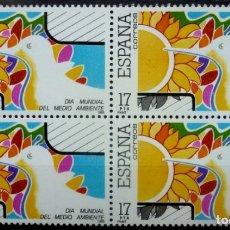 Sellos: SELLOS ESPAÑA 1985- FOTO 766, BL. 4 SELLOS , NUEVO. Lote 180018952
