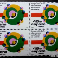 Sellos: SELLOS ESPAÑA 1985- FOTO 767- Nº 2802,BL.4 SELLOS, NUEVO. Lote 180019341